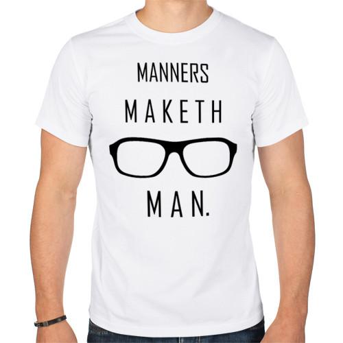 Футболка «Kingsman Manners maketh man.»