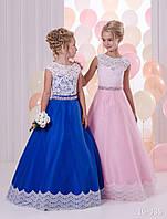Детское нарядное платье 16-335 - индивидуальный пошив