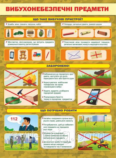 Картинки по запросу вибухонебезпечні предмети