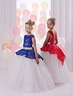 Детское нарядное платье 16-333 - индивидуальный пошив