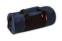 Спортивная сумка, синяя с черным