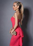 """Коктейльное платье с болеро  - """"Кокетка"""" код 473"""