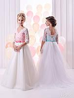 Детское нарядное платье 16-344 - индивидуальный пошив