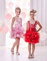 Детское нарядное платье 16-387 - индивидуальный пошив