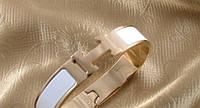 Браслет HERMES ювелирная бижутерия золото 18К декор эмаль
