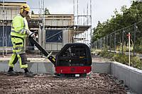 Виброплита бензиновая реверсивная 300 кг - Chicago Pneumatic MV-320 весом от 150 до 820 кг, фото 1