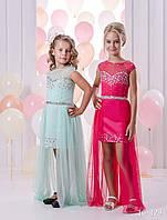 Детское нарядное платье 16-365 - индивидуальный пошив