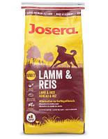 сухий корм для собак JOSERA Dog lamb&rice 15 кг