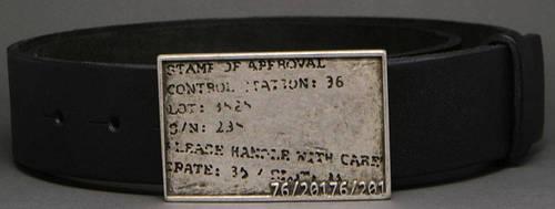 Несравненный женский ремень из натуральной кожи Шифр 4 см Svetlana Zubko 10K401 черный