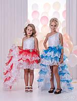 Детское нарядное платье 16-380 - индивидуальный пошив