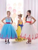 Детское нарядное платье 16-356 - индивидуальный пошив