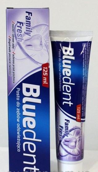Зубная паста Bluedent  Family Fresh 125ml