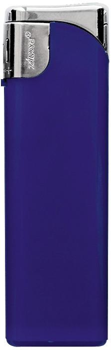 Зажигалка пьезо пластиковая синяя