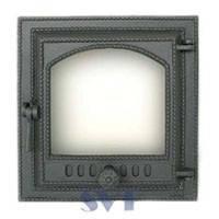 Печные герметичные дверци — Чугунное печьное литье SVT, Плиты, Каминные дверцы, стекло для камина