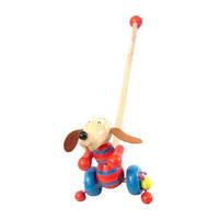 Деревянная игрушка каталочка