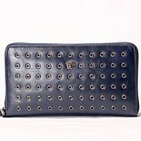 Барсетка  Versace синего цвета