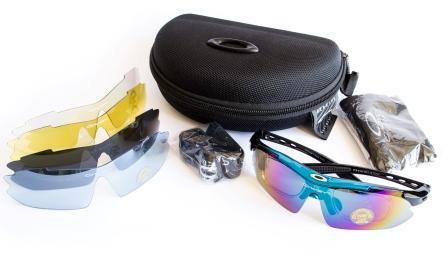 Тактические очки Oakley blue  - Интернет-магазин Оптикглассес в Киеве
