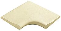 Бортовой камень для бассейна 25 внутренний угол 90 R10 Pierra