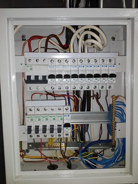 монтаж электропроводки, монтаж щитового оборудования, АВР, монтаж светодиодных светильников