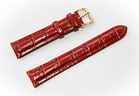 Ремешок кожаный Bros Cvcrro a Mano для наручных часов с классической застежкой, коричневый, 18 мм