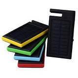 Солнечное зарядное устройство 12000mAh внешний аккумулятор ES900. Зеленый., фото 4