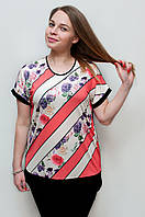 Женская футболка корал 2048