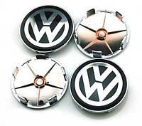 Заглушки колпачки литых дисков VW Volkswagen 68mm