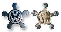 """Заглушки колпачки литых дисков VW Volkswagen """"звезда"""""""