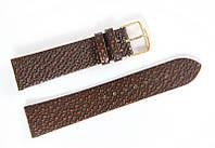 Ремінець шкіряний Bros Cvcrro a Mano для наручних годинників з класичною застібкою, коричневий, 20 мм