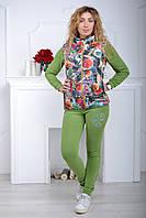 Жилетка женская Турция цветная тёплая стильная яркая модная воротник стойка
