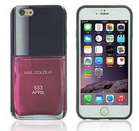Силиконовый чехол лак для ногтей LE VERNIS №533 CHANEL для Iphone 6/6S