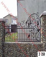 Забор кованый 1 Киев