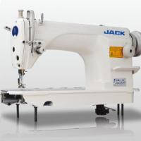 JACK JK-608 Одноигольная швейная машина челночного стежка для тяжелых материалов