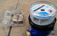 Бытовой счетчик холодной/ гарячей воды(16мм, 1,5куб/ч)