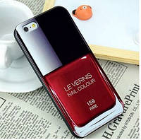 Силиконовый чехол лак для ногтей LE VERNIS №159 CHANEL для Iphone 6/6S