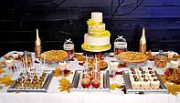 Свадебный Кенди бар (Candy Bar) в осеннем стиле, фото 1