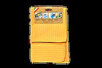 Набор микрофибровых полотенец для уборки с губкой (3шт)