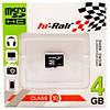 Карта памяти HI-Rali Micro SD 4Gb Class 4