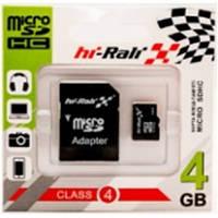 Карта памяти HI-Rali Micro SD 4Gb Class 4 + adapter