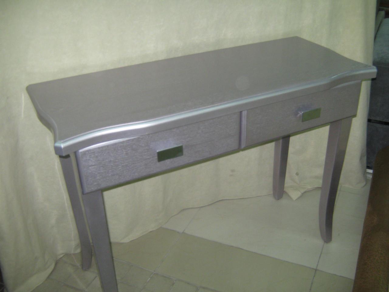 Туалетный столик ДОБРОДАР 2Ш (сиреневый)