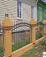 Забор кованый 3 Киев