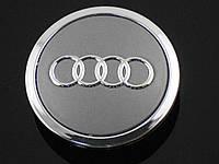 Заглушки колпачки литых дисков Audi 69mm 4B0601170A, фото 1