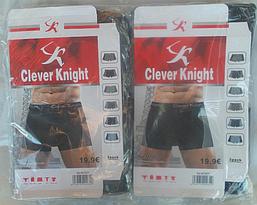 Боксеры мужские XL-4XL Бамбук  «Clever Knight» , фото 3