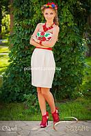 Платье с вышивкой, выпускное, фото 1