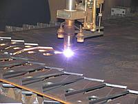 Плазменная резка металла. Лист толщина от 1 до 2мм.