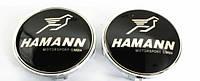 Заглушки ковпачки литих дисків BMW Hamann 68мм