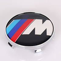 Заглушки колпачки литых дисков BMW 60mm M-power