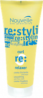 Защитный восстанавливающий крем для волос Nouvelle с эффектом выпрямления ,200 мл.