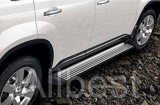 Боковые пороги для Nissan X-Trail T30 (2007-2014)
