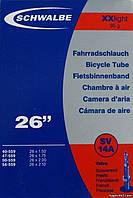 """Камера 26"""" х 1,5-2,1"""" (40/54 - 559) Schwalbe XXlight SV14A, FV40"""